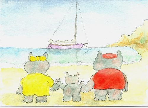 Hippos on Holiday